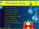 What to Write On A Christmas Party Invitation Christmas Party Invitation Wording 365greetings Com