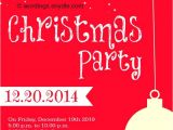 What to Write On A Christmas Party Invitation Christmas Party Invitation Wordings Wordings and Messages