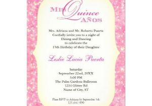 What to Write On Quinceanera Invitations Quinceanera Invitation Wording Spanish Invitation