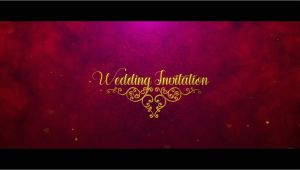 Whatsapp Wedding Invitation Template after Effects Royal Wedding Invitation In after Effects Youtube