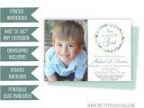 Where Can I Buy Baptism Invitations Boy Baptism Invitation Blue Baptism Invitations