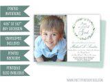 Where Can I Buy Baptism Invitations Boy Baptism Invitation Blue Baptism Invitations