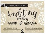 Where to Buy Wedding Invitations In Store Fancy Burlap Wedding Invitations Paperstyle