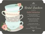 Whimsical Tea Party Invitations Whimsical Tea Cups Bridal Shower Invitation Bridal