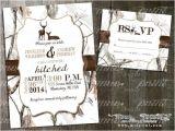White Camo Wedding Invitations White Camo Deer Wedding Invitation and Rsvp Card Deer