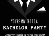 Who Gets Invited to Bachelor Party Tying the Knot Free Bachelor Party Invitation Template