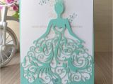 Wholesale Quinceanera Invitations Aliexpress Com Buy 50pcs Lot wholesale Beautiful Tiffany