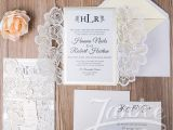 Wholesale Wedding Invitation Albums Luxurious Laser Cut wholesale Wedding Invitation Wpl0020s