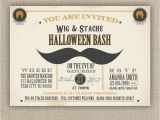 Wig Party Invitations 110 Best Boo Images On Pinterest Halloween Decorating