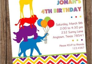 Wild Animal Birthday Party Invitations Wild Animals Birthday Invitations 1 00 Each with