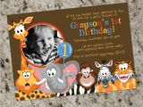 Wild Animal Birthday Party Invitations Zoo Birthday Party Invitation Zoo Animals Party Invitation