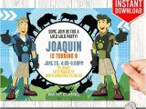 Wild Kratts Party Invitations Wild Kratts Invitation Instant Download Wild Kratts Invites