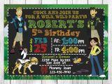 Wild Kratts Party Invitations Wild Kratts Invitation Wild Kratts Birthday Wild Kratts