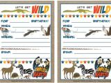 Wild Kratts Party Invitations Wild Kratts Invitations Birthday Parties