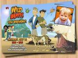 Wild Kratts Party Invitations Wild Kratts Printable Invitations Party Invitations Ideas
