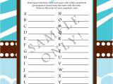 Wild Safari Blue Baby Shower Invitations Wild Safari Blue Baby Shower Invitation Printable · Just
