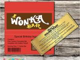 Willy Wonka Party Invitations Printable Free Willy Wonka Golden Ticket Invitation Chocolate Wrapper