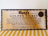 Willy Wonka Party Invitations Printable Free Willy Wonka Golden Ticket Invitation Digital Printable