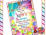 Willy Wonka Party Invitations Printable Free Willy Wonka Inspired Custom Invitation Diy Printable by