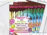 Willy Wonka Party Invites Items Similar to Willy Wonka Party Invitations 5×7 Custom
