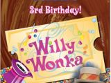Willy Wonka Party Invites Willy Wonka Birthday Invitation