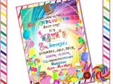 Willy Wonka Party Invites Willy Wonka Inspired Custom Invitation Diy by
