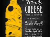 Wine and Cheese Bridal Shower Invites Wine & Cheese Bridal Shower Invitation by Leeshaloodesignz