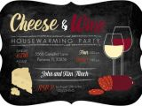 Wine and Cheese Party Invitation Template Free Cheese and Wine Housewarming Party Invitation