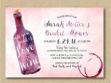 Wine Bridal Shower Invites Printable Wine Invitations