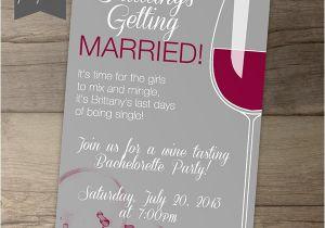 Wine Tasting Bachelorette Party Invitation Wording Bachelorette Party Invitations 6 On Behance