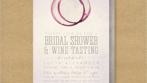 Wine Tasting Bridal Shower Invitations Wine Tasting Bridal Shower Invitation Printable Winery or