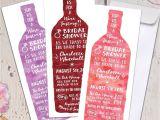 Wine Tasting Bridal Shower Invitations Wine Tasting theme Bridal Shower Invitations Modern