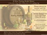 Wine Tasting Bridal Shower Invitations Wine Tasting theme Each Bridal Shower Invitation
