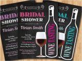 Wine Tasting Bridal Shower Invites Wine Tasting Bridal Shower Invitation Wedding Shower