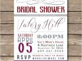Wine themed Bridal Shower Invitations Etsy Items Similar to Wine Color themed Bridal Shower