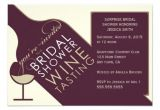 Wine themed Bridal Shower Invites Vintage Wine themed Bridal Shower Invitations Bridal