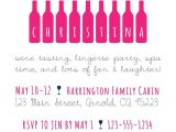 Winery Bachelorette Party Invitations Bachelorette Invitation Wine Tasting Party by
