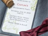 Winery Bachelorette Party Invitations Wine Bachelorette Party Invitations too Chic Little