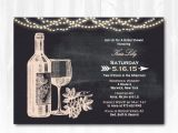 Winery Bridal Shower Invitations Wine Bridal Shower Invitation with String Lights Diy Printable
