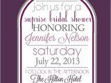 Winery Bridal Shower Invitations Wine themed Bridal Shower Invitations Template