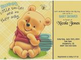 Winnie the Pooh Baby Shower Invitations Templates Free Baby Shower Invitation Awesome Winnie the Pooh Baby