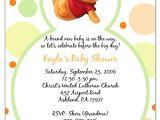 Winnie the Pooh Baby Shower Invitations Templates Free Winnie the Pooh Baby Shower Invitations Templates Free
