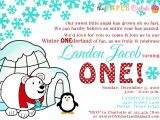 Winter Birthday Party Invitation Wording Items Similar to Printable Invitation Design Winter