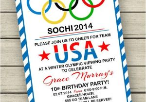 Winter Olympics Party Invitations 102 Best Images About Olympic Games Party On Pinterest