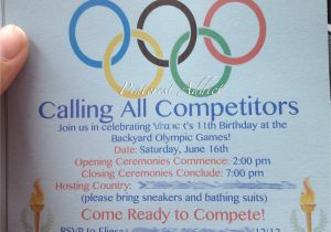 Winter Olympics Party Invitations Olympics theme for An Evite Just B Cause