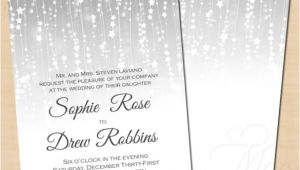 Winter Wedding Invitation Templates 14 Winter Wedding Invitation Templates Sample Example