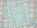 Winter Wonderland Party Invitation Ideas Winter Wonderland Invitations Template Best Template