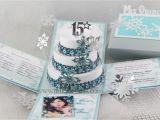 Winter Wonderland Quinceanera Invitations Jinky 39 S Crafts Designs Winter Wonderland Quinceanera