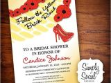 Wizard Of Oz Bridal Shower Invitations 310 Best Images About Wizard Of Oz theme On Pinterest