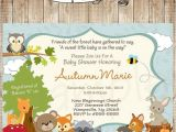 Woodland Animal themed Baby Shower Invitations 25 Best Ideas About forest Baby Showers On Pinterest
